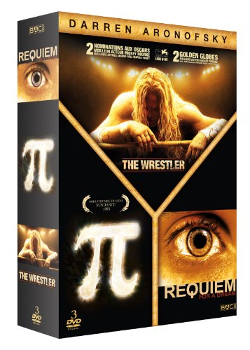 Coffret Aronofsky (Darren) : The Wrestler + Pi + Requiem for a dream (3 DVD)