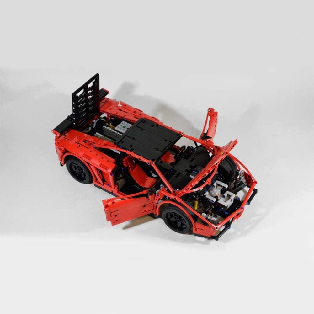 YDYL-LI Tech Gallardo Coche Deportivo RC MOC-3918 Modelo De Construcción Bloques, Ladrillos De Construcción Compatible con Lego (1674 + PCS), Ladrillos De Juguete para Adultos Y Kid,Static Version: Amazon.es: Hogar