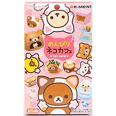 Re-Ment Rilakkuma Japanese Cat Cafe Miniature Blind Box: Toys & Games