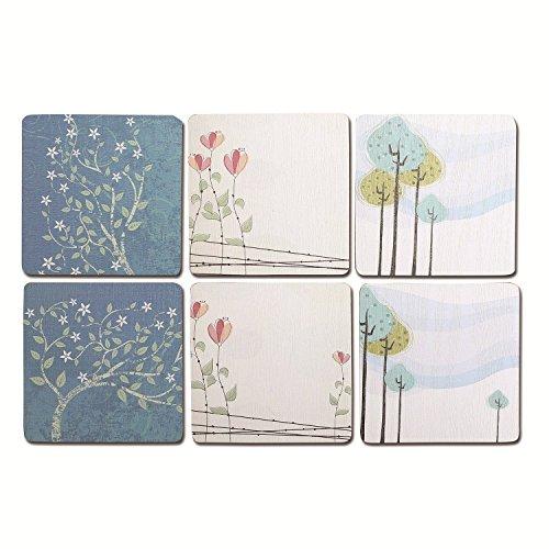 Cimostar Wooden Coasters artistic design