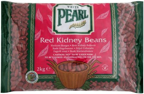 White Pearl Red Kidney Beans 2 Kg Pack Of 3 Amazon Co Uk Grocery
