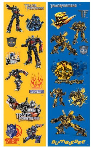 Transformers 3 - Sticker Sheets Party Accessory ()
