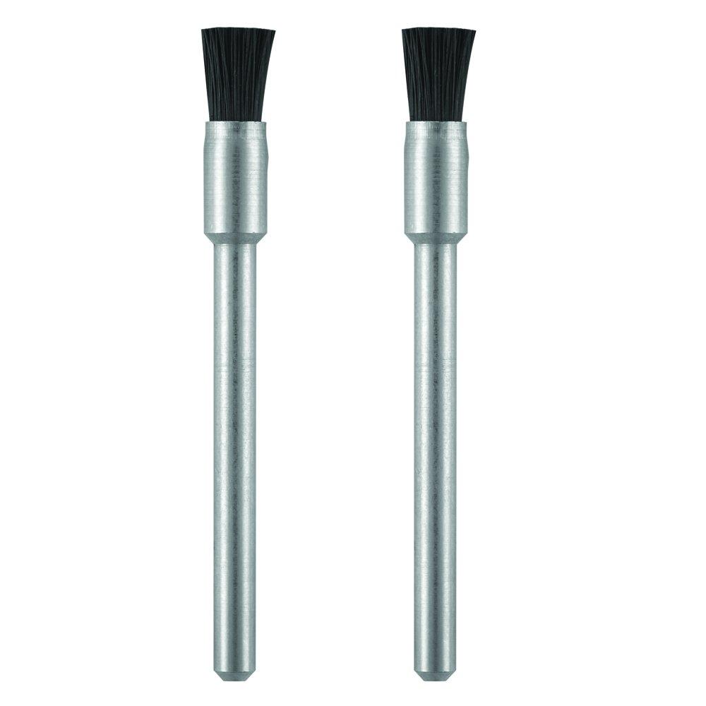 """DREMEL MFG CO 405-02 2 Pack, 1/8"""", Nylon Bristle Brush"""