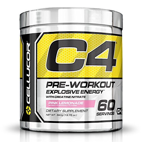 C4 Original Explosive Pre-Workout Supplement, Pink Lemonade, 13.75 oz