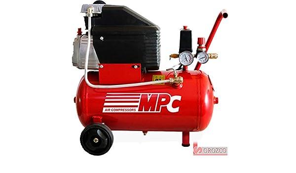 Compresor de aire 230v 2 cv 25 litros MPC ECO-225: Amazon.es: Bricolaje y herramientas