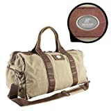 Austin Peay Canyon Mason Canvas Duffel 'AP Austin Peay Governors - Official Athletic Logo Engraved'