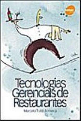 Tecnologias Gerenciais De Restaurantes - Volume 1