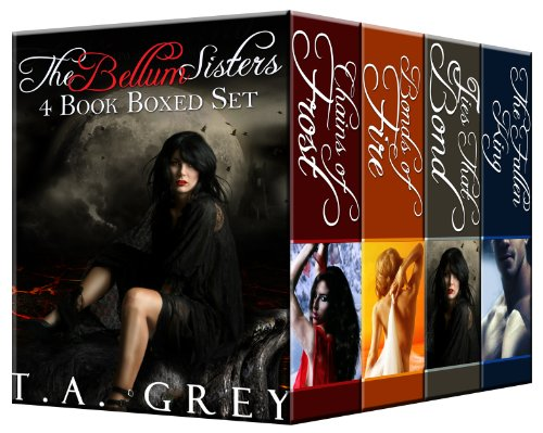 The Bellum Sisters Book Bundle (Paranormal Romance Adventures): 4-Book Boxed Set cover