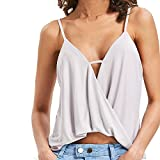 vest cardigan for women,EOWEO Sexy Fashion Women Tank Tops Vest Halter Off Shoulder Camisole