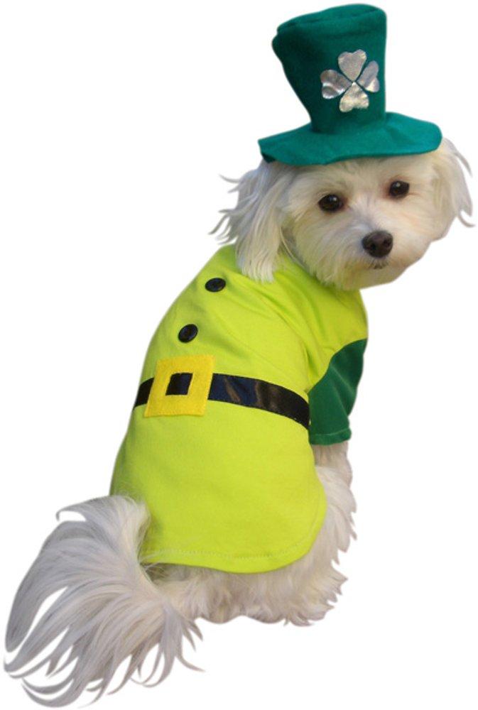 Leprechaun Boy Dog Costume, Size Small