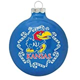Topperscot Kansas Jayhawks 2013 Traditional Christmas Ornament - Royal,