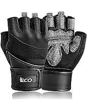 iECO Gewichtheffen Gym Handschoenen voor Mannen Vrouwen Workout Handschoenen met Volledige Palm Bescherming Geweldig voor Fitness, powerlifting, Crossfit, Fietsen, Oefening