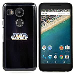 Star War Caja protectora de pl¨¢stico duro Dise?ado King Case For LG Google Nexus 5X