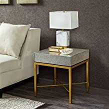 Myla End Table Mirror/Gold See below