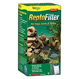 Tetra 25844 ReptoFilter 10i for Terrariums up to 20 Gallons