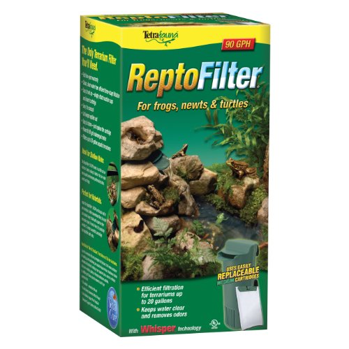 Reptile Filter - Tetra ReptoFilter for Terrariums, For Frogs/Newts/Turtles