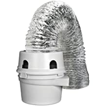 Dundas Jafine TDIDVKZW ProFlex Indoor Dryer Vent Kit with 4-Inch by 5-Foot ProFlex Duct