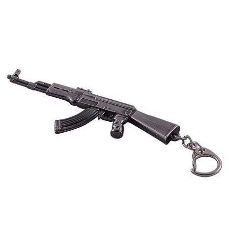Amazon.com: Mallofusa - Llavero con diseño de rifle de ...