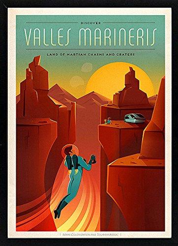Amazon com : Vallis Marineris Spacex Mars Vintage Style