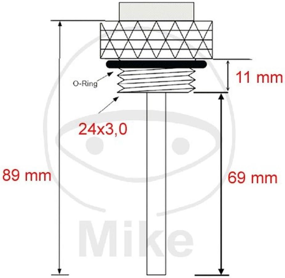 oil temperature gauge 69 mm pin 24 x 3 mm