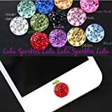 8 Rhinestone Bling Crystal Diamante home button stickers fits Apple ipad air iphone 6 5/5s 4/4s 3g 3gs ipod touch 4 Plus free stylus