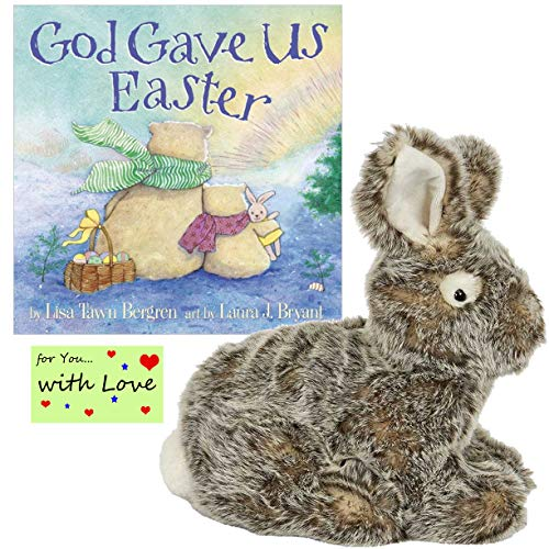 (Maison Chic Religious Easter Gift for Kids Combines The Easter Bunny Traditions with God's Message in God Gave Us Easter Board Book)