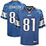 Reebok Detroit Lions Calvin Johnson Youth (8-20) Replica Jersey Large