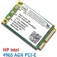 New HP Intel 4965 AGN Wireless-N WiFi Link Mini PCI-E Card 300 Mbps 802.11a/b/g/n 2.4/5 GHz 4965AGN MM1