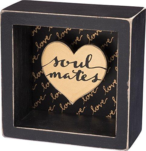 Primitives By Kathy Box Sign - Soulmates