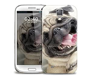 funny pug Samsung Galaxy S4 GS4 protective phone case