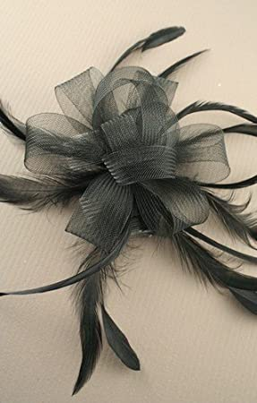 Allsorts® Black Comb Fascinator Weddings Ladies Day Race Royal Ascot ... 2f00b719a40