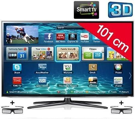 SAMSUNG Televisor LED 3D Smart TV UE40ES6100: Amazon.es: Electrónica