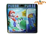 Super Mario Sunshine Bifold Wallet with Snap