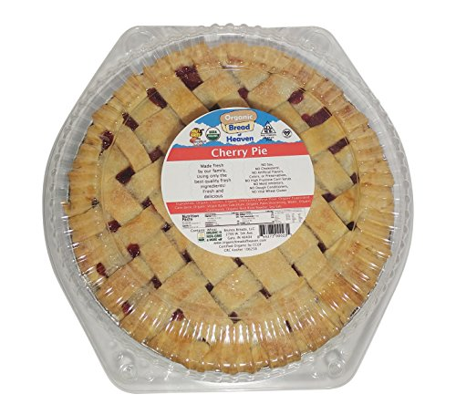 Fresh Pie - Organic Bread of Heaven ~ Amazing Cherry Pie (9 inch) ~ USDA Organic