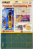 Olfa Rty-St/Cg 45mm Rotary Cutter/Self Healing Mat/Quilt Ruler Making Set