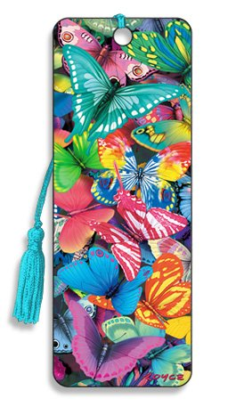 Butterfly Magic - 3D Bookmark - Cheatwell Games]()