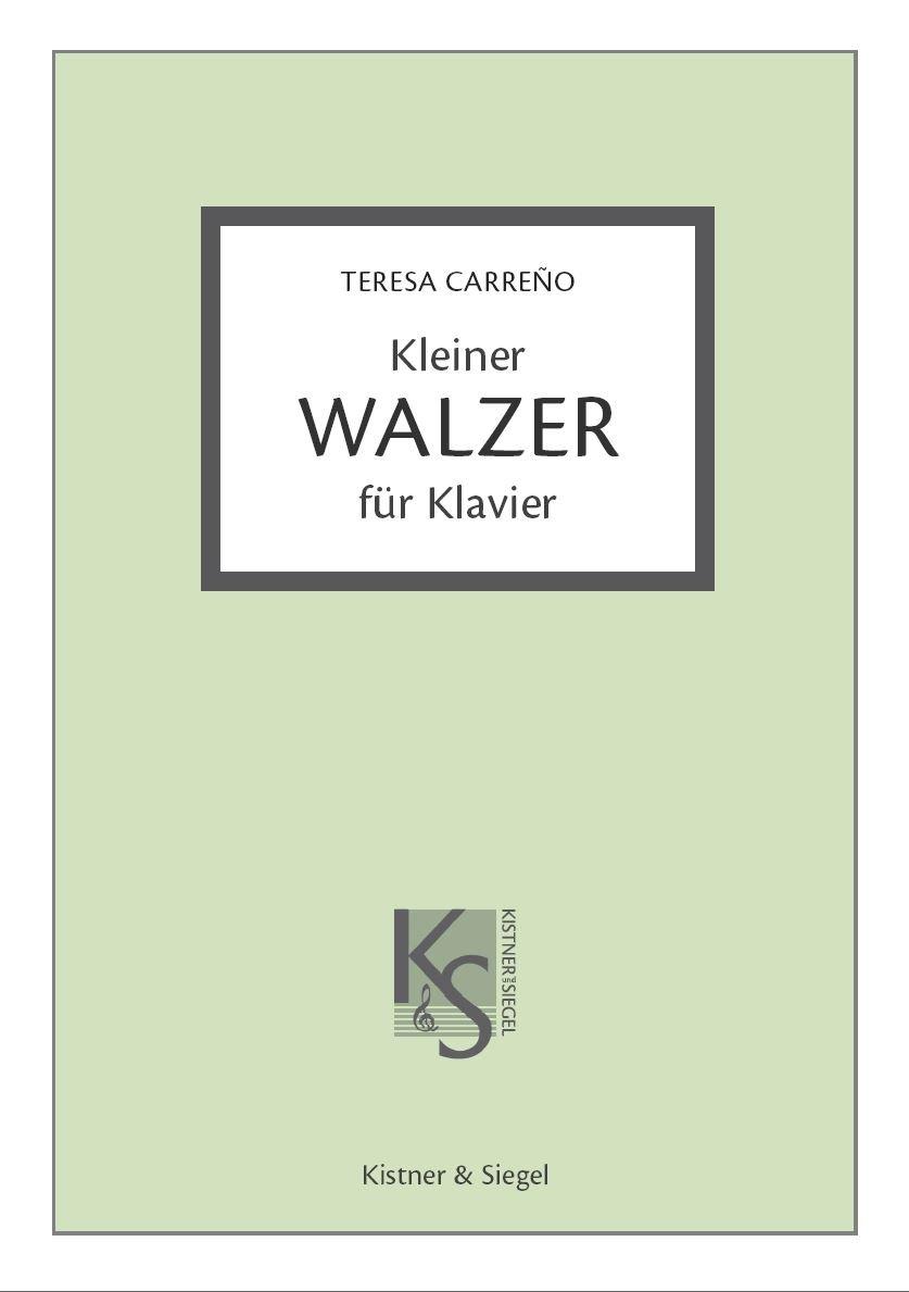 Mi Teresita - Kleiner Walzer für Klavier: Amazon.de: Teresa Carreno ...