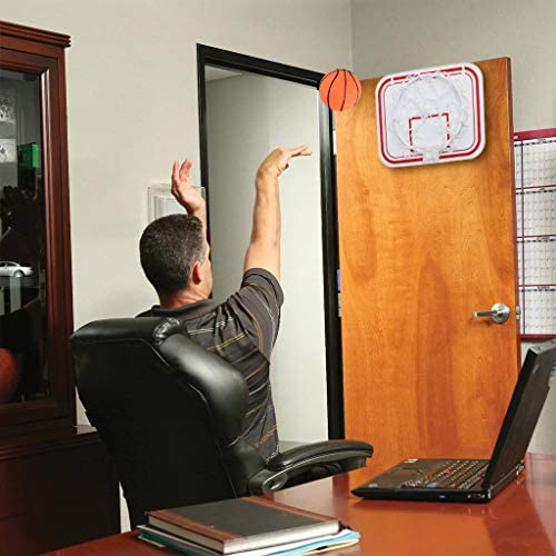 Portable Basketball Hoop Kits for Adults and Kids Suspension /& Suction Cups /& Clip Mini Basketball Backboard and Rim Combo Foldable Basketball Frame,Gift for Kids Adult 3 Ways of Installation