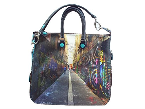 Borsa Gabs modello Shopping Trasformabile Week 305 Sydney Small Multicolore