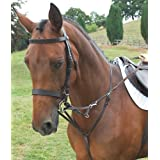 Shires German Martingale - Size:Full Color:Havana [Misc.]