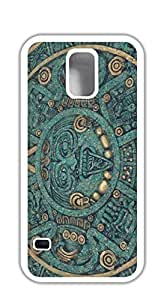 Design Phone Protective Cover case for samsung galaxy s5 for girls - Mexican Aztec Calendar Designer Table