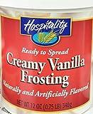 Hospitality Creamy Vanilla Frosting, 12 oz
