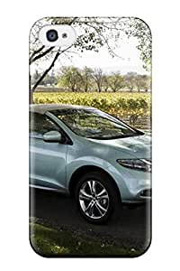 Tpu Shockproof/dirt-proof Nissan Murano 097564 Cover Case For Iphone(4/4s)