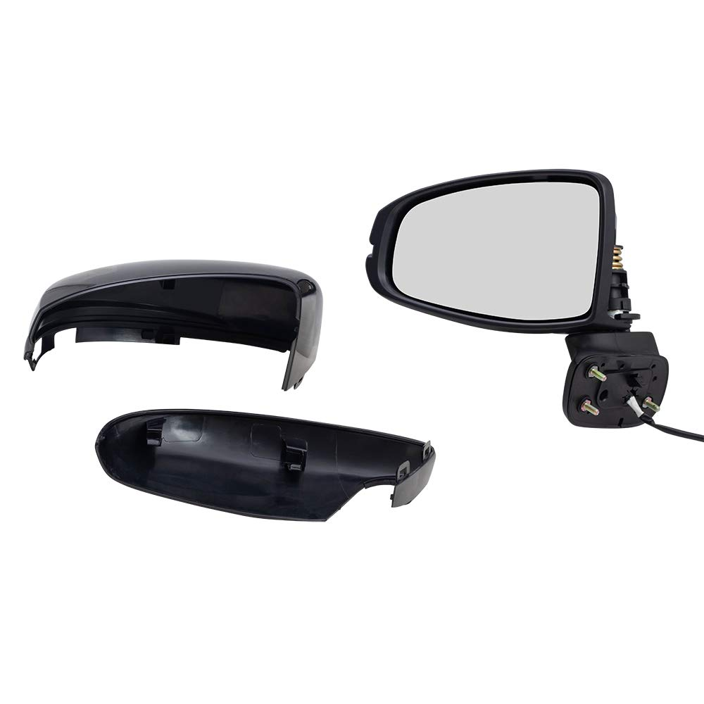 Replacement Driver Power Side Mirror Compatible with 2015-2019 Fit