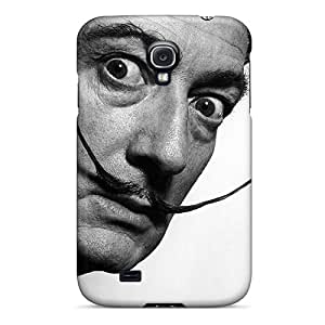 Premium OMghe10902mbTBb Case With Scratch-resistant/ Salvador Dali Case Cover For Galaxy S4