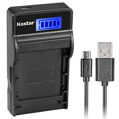 Kastar SLIM LCD Charger for Nikon EN-EL10 MH-63 and Nikon Coolpix S60, S80, S200, S210, S220, S230, S500, S510, S520, S570, S600, S700, S3000, S4000, S5100 + More Camera