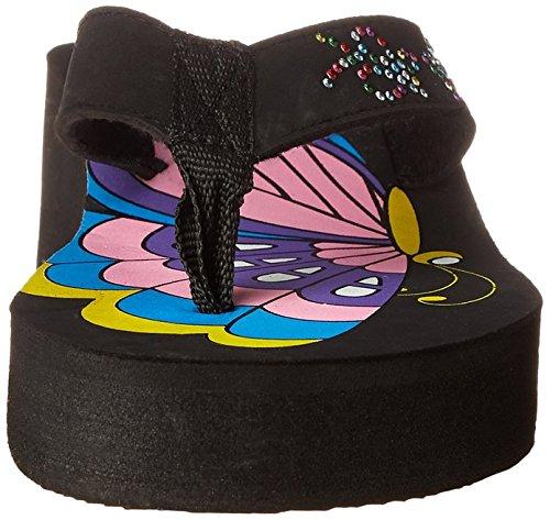Wedge Brand New Flops Butterfly Thong Flip Sandals Women's 41vqTP