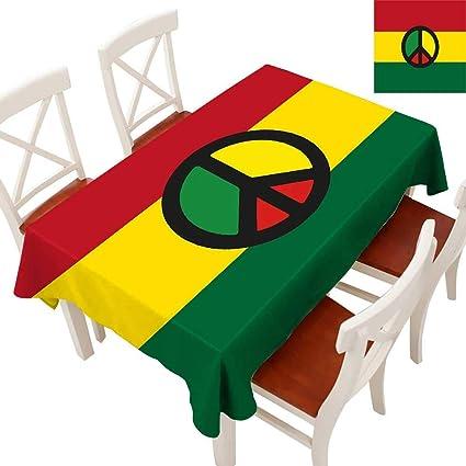 Brilliant Amazon Com Jamaican Decorative Textured Fabric Tablecloth Alphanode Cool Chair Designs And Ideas Alphanodeonline