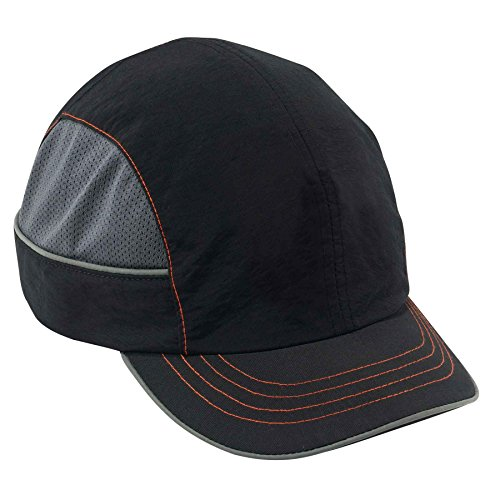 Safety Bump Cap, Baseball Hat Style, Comfortable Head Protection, Short Brim, Extra Large Skullerz 8950XL