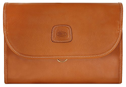 Bric's Luggage Life Pelle Tri-Fold Traveler, Cognac, One Size by Bric's